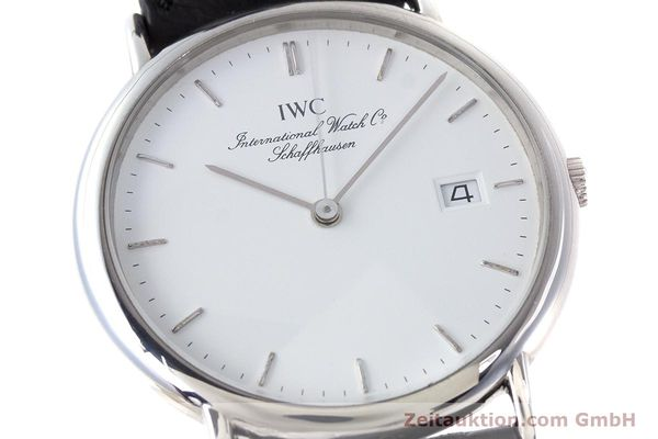 Used luxury watch IWC Portofino steel quartz Kal. 2210  Eta 255411 Ref. 3331  | 161402 02