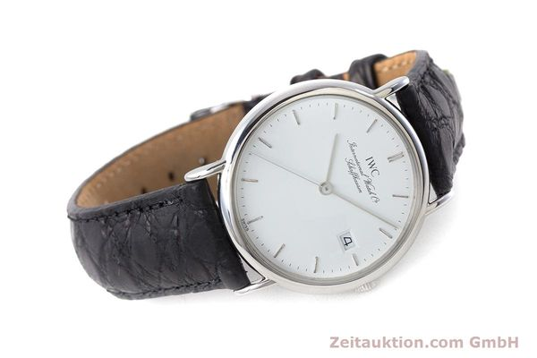 Used luxury watch IWC Portofino steel quartz Kal. 2210  Eta 255411 Ref. 3331  | 161402 03