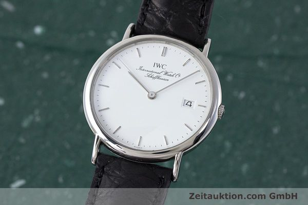 Used luxury watch IWC Portofino steel quartz Kal. 2210  Eta 255411 Ref. 3331  | 161402 04