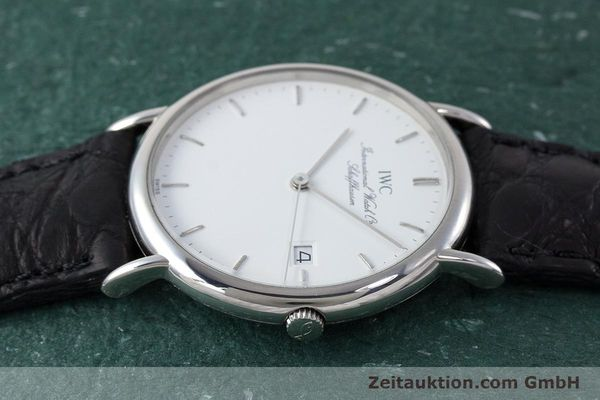 Used luxury watch IWC Portofino steel quartz Kal. 2210  Eta 255411 Ref. 3331  | 161402 05