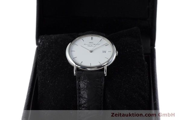 Used luxury watch IWC Portofino steel quartz Kal. 2210  Eta 255411 Ref. 3331  | 161402 07