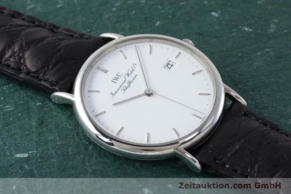 Used luxury watch IWC Portofino steel quartz Kal. 2210  Eta 255411 Ref. 3331  | 161402 12