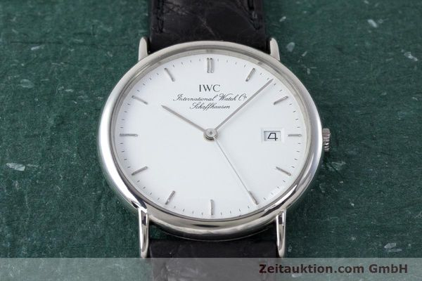 Used luxury watch IWC Portofino steel quartz Kal. 2210  Eta 255411 Ref. 3331  | 161402 13