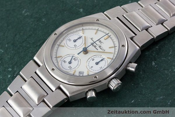 Used luxury watch IWC Ingenieur chronograph steel quartz Kal. 630 Ref. 3733  | 161403 01