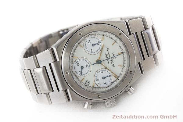 Used luxury watch IWC Ingenieur chronograph steel quartz Kal. 630 Ref. 3733  | 161403 03