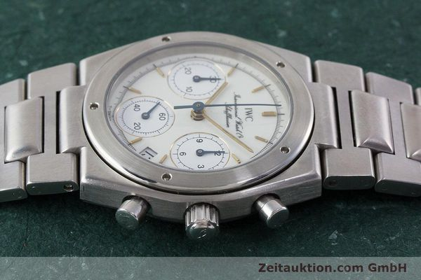 Used luxury watch IWC Ingenieur chronograph steel quartz Kal. 630 Ref. 3733  | 161403 05