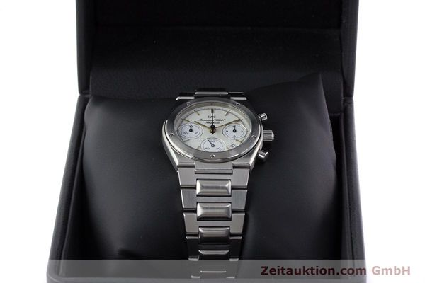 Used luxury watch IWC Ingenieur chronograph steel quartz Kal. 630 Ref. 3733  | 161403 07