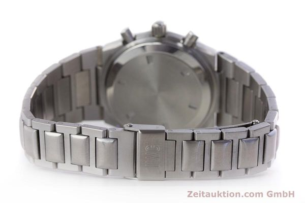 Used luxury watch IWC Ingenieur chronograph steel quartz Kal. 630 Ref. 3733  | 161403 12