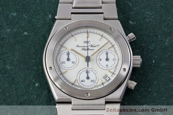 Used luxury watch IWC Ingenieur chronograph steel quartz Kal. 630 Ref. 3733  | 161403 15