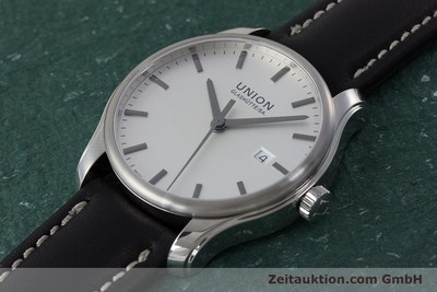 UNION GLASHÜTTE VIRO STEEL AUTOMATIC KAL. U2892A2 ETA 2892A2 LP: 980EUR [161407]