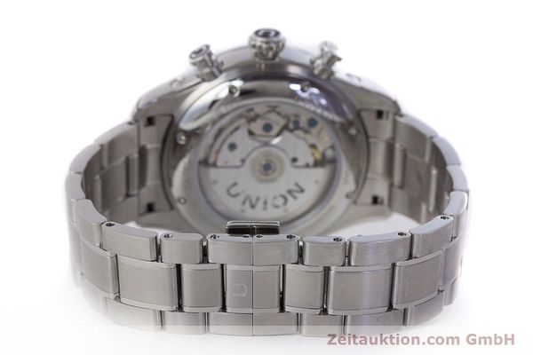 Used luxury watch Union Glashütte Belisar chronograph steel automatic Kal. UNG-2701 Ref. D009.427.A  | 161408 11