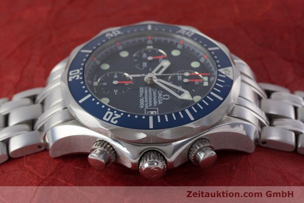 Used luxury watch Omega Seamaster chronograph steel automatic Kal. 1164  | 161412 05