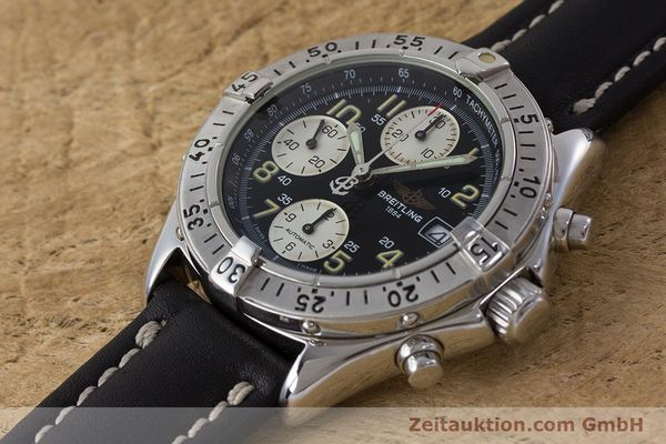 Used luxury watch Breitling Colt chronograph steel automatic Kal. B13 ETA 7750 Ref. A13035  | 161415 01