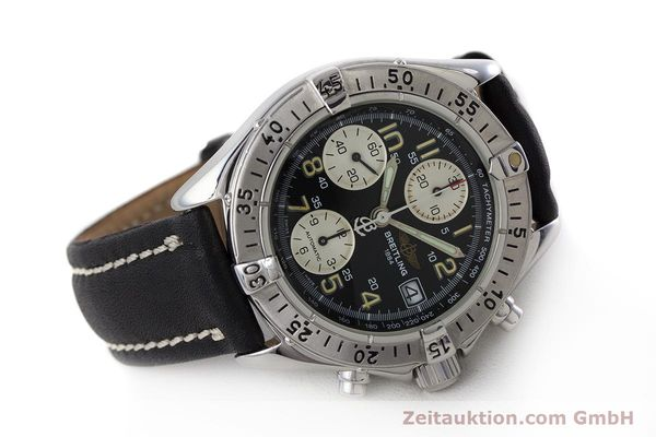 Used luxury watch Breitling Colt chronograph steel automatic Kal. B13 ETA 7750 Ref. A13035  | 161415 03