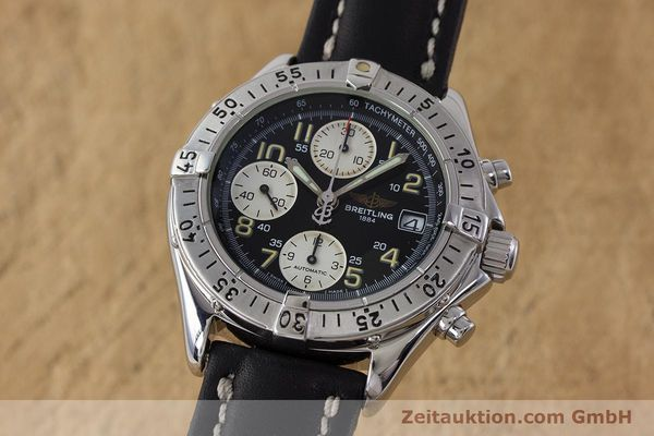 Used luxury watch Breitling Colt chronograph steel automatic Kal. B13 ETA 7750 Ref. A13035  | 161415 04