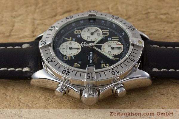 Used luxury watch Breitling Colt chronograph steel automatic Kal. B13 ETA 7750 Ref. A13035  | 161415 05