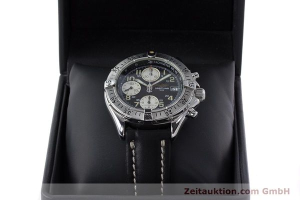 Used luxury watch Breitling Colt chronograph steel automatic Kal. B13 ETA 7750 Ref. A13035  | 161415 07