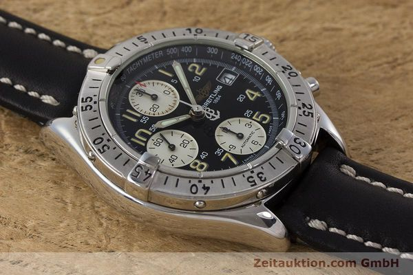 Used luxury watch Breitling Colt chronograph steel automatic Kal. B13 ETA 7750 Ref. A13035  | 161415 12