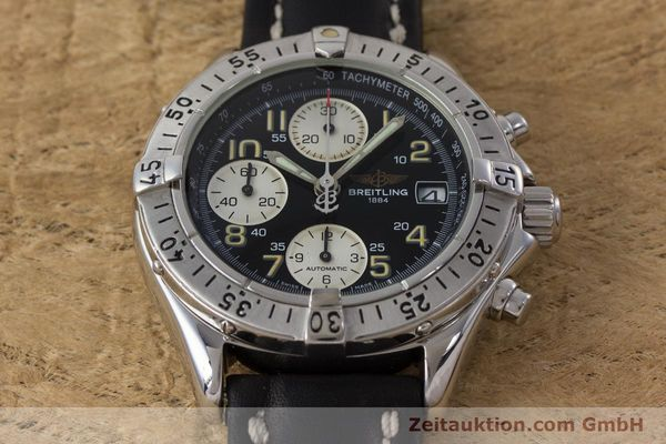 Used luxury watch Breitling Colt chronograph steel automatic Kal. B13 ETA 7750 Ref. A13035  | 161415 13