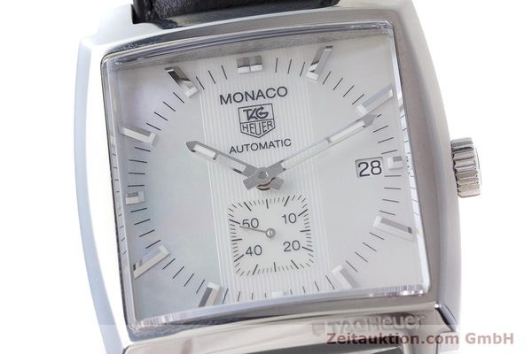 Used luxury watch Tag Heuer Monaco steel automatic Kal. 6 ETA 2895-2 Ref. WW2112  | 161416 02