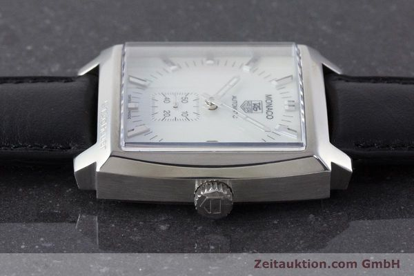Used luxury watch Tag Heuer Monaco steel automatic Kal. 6 ETA 2895-2 Ref. WW2112  | 161416 05