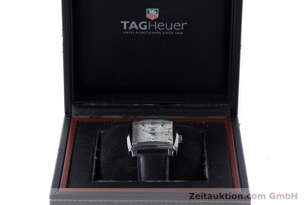 Used luxury watch Tag Heuer Monaco steel automatic Kal. 6 ETA 2895-2 Ref. WW2112  | 161416 07