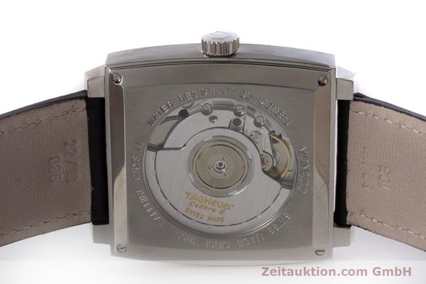 Used luxury watch Tag Heuer Monaco steel automatic Kal. 6 ETA 2895-2 Ref. WW2112  | 161416 09