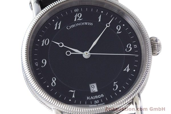 Used luxury watch Chronoswiss Kairos steel automatic Kal. ETA 2892A2 Ref. CH2823  | 161417 02