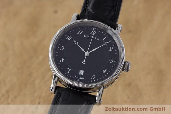 Used luxury watch Chronoswiss Kairos steel automatic Kal. ETA 2892A2 Ref. CH2823  | 161417 04