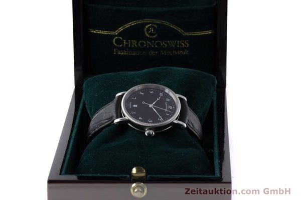 Used luxury watch Chronoswiss Kairos steel automatic Kal. ETA 2892A2 Ref. CH2823  | 161417 07
