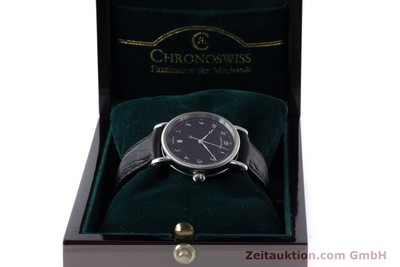 CHRONOSWISS KAIROS STEEL AUTOMATIC KAL. ETA 2892A2 LP: 3700EUR [161417]