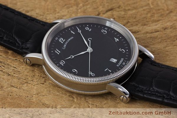 Used luxury watch Chronoswiss Kairos steel automatic Kal. ETA 2892A2 Ref. CH2823  | 161417 16