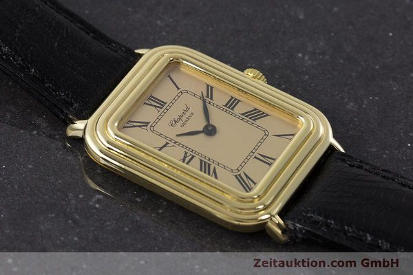 Used luxury watch Chopard * 18 ct gold manual winding Ref. 2036  | 161418 14