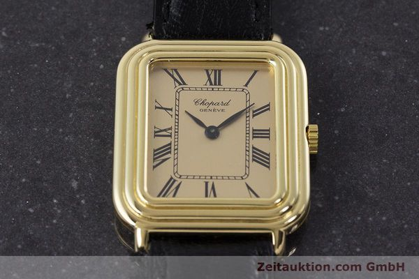 Used luxury watch Chopard * 18 ct gold manual winding Ref. 2036  | 161418 15