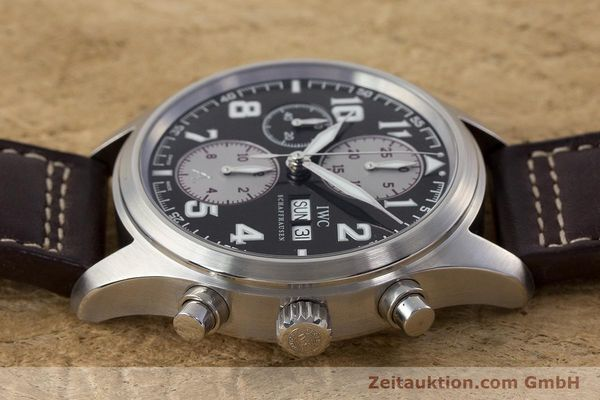 Used luxury watch IWC Fliegeruhr chronograph steel automatic Kal. 79320 Ref. 3717 LIMITED EDITION | 161419 05