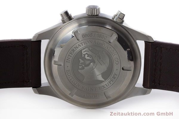 Used luxury watch IWC Fliegeruhr chronograph steel automatic Kal. 79320 Ref. 3717 LIMITED EDITION | 161419 08