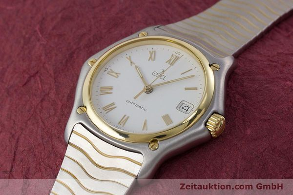 Used luxury watch Ebel 1911 steel / gold automatic Kal. 80 LWO 8810 Ref. 1080916  | 161421 01