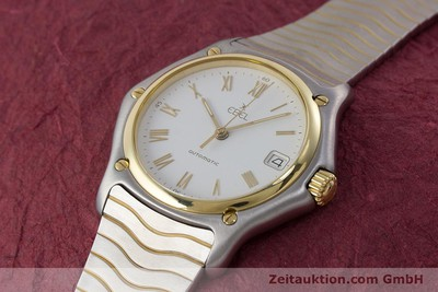 EBEL 1911 STEEL / GOLD AUTOMATIC KAL. 80 LWO 8810 LP: 2620EUR [161421]