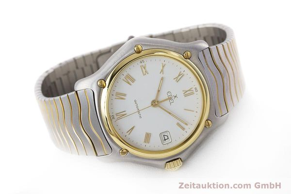 Used luxury watch Ebel 1911 steel / gold automatic Kal. 80 LWO 8810 Ref. 1080916  | 161421 03