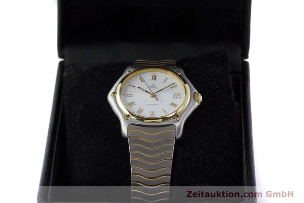 Used luxury watch Ebel 1911 steel / gold automatic Kal. 80 LWO 8810 Ref. 1080916  | 161421 07