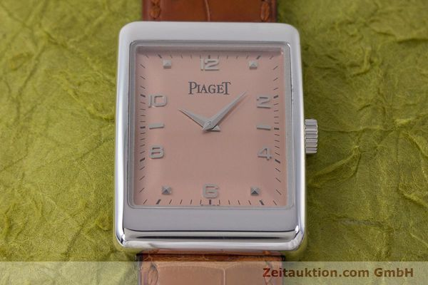 Used luxury watch Piaget * 18 ct white gold manual winding Kal. 9P2 Ref. 9952  | 161422 17