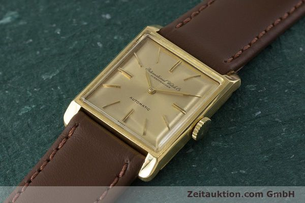 Used luxury watch IWC * 18 ct gold automatic Kal. 44 VINTAGE  | 161423 01