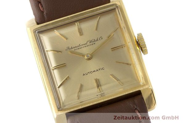 Used luxury watch IWC * 18 ct gold automatic Kal. 44 VINTAGE  | 161423 02