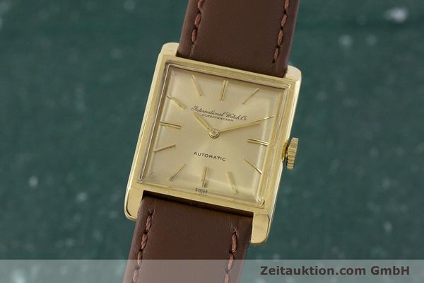 Used luxury watch IWC * 18 ct gold automatic Kal. 44 VINTAGE  | 161423 04