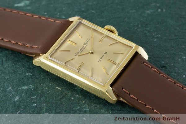 Used luxury watch IWC * 18 ct gold automatic Kal. 44 VINTAGE  | 161423 13
