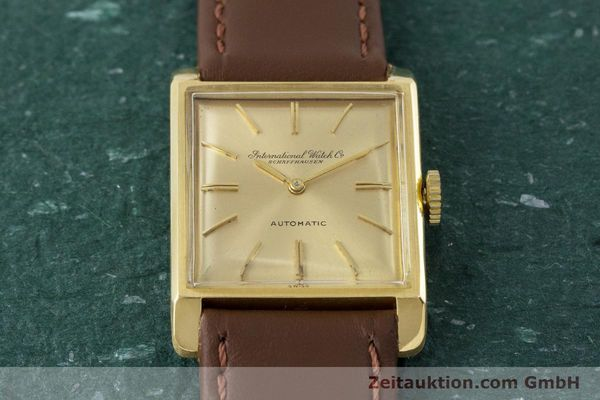 Used luxury watch IWC * 18 ct gold automatic Kal. 44 VINTAGE  | 161423 14