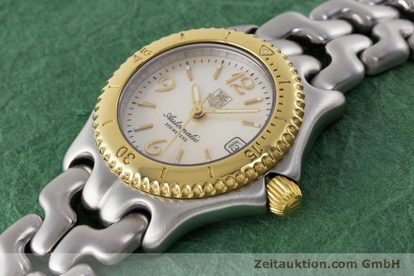 Used luxury watch Tag Heuer Link steel automatic Kal. ETA 2000-1 Ref. WG2320  | 161425 01
