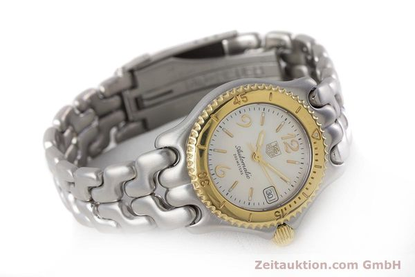 Used luxury watch Tag Heuer Link steel automatic Kal. ETA 2000-1 Ref. WG2320  | 161425 03