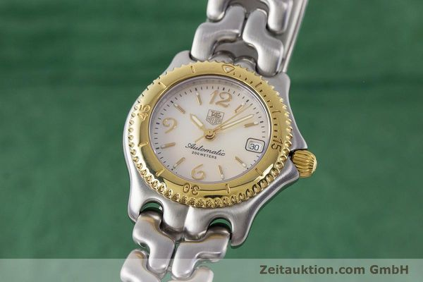 Used luxury watch Tag Heuer Link steel automatic Kal. ETA 2000-1 Ref. WG2320  | 161425 04