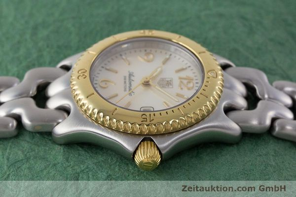 Used luxury watch Tag Heuer Link steel automatic Kal. ETA 2000-1 Ref. WG2320  | 161425 05